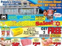 People's Choice (Special Offer) Flyer
