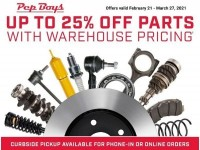 Pep Boys (Special Offer) Flyer