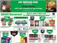 Pet Supplies Plus (BIG Savings) Flyer
