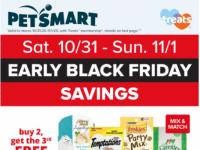 PetSmart (Black Friday Savings) Flyer