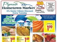 Plymouth Hometown Market (April Showers of Savings) Flyer