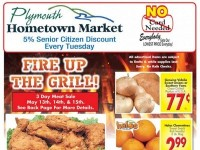 Plymouth Hometown Market (Fire Up The Grill) Flyer