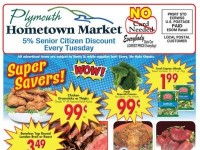 Plymouth Hometown Market (Super Savers) Flyer