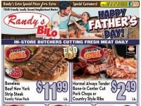 Randy's BiLo Foods (Happy Father's Day) Flyer