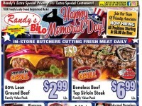 Randy's BiLo Foods (Memorial Day Sale) Flyer