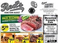 Red's Market (Special Offer) Flyer