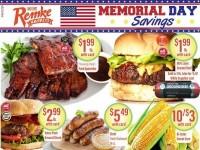 Remke Markets (Memorial day saving) Flyer