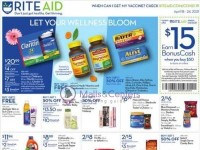 Rite Aid Pharmacy (Weekly Specials) Flyer