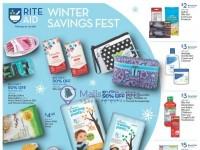 Rite Aid Pharmacy (Winter Savings Fest) Flyer