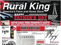 Rural King (Happy Father's Day) Flyer