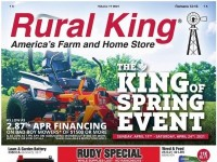 Rural King (The King Of Spring Event) Flyer