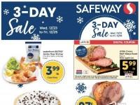 Safeway (3 days sale - CA) Flyer