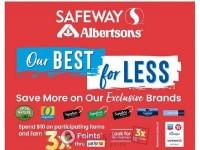 Safeway (Save on own brand - WA) Flyer
