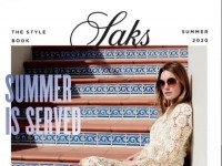 Saks Fifth Avenue (Summer Is Served) Flyer