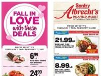 Sentry Foods (Happy Valentine's Day) Flyer