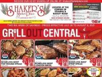 Shaker's MarketPlace (Special Offer) Flyer