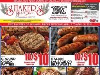 Shaker's MarketPlace (Two big week of savings) Flyer