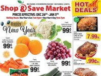 Shop and Save Market (Happy New Year - Des Plaines) Flyer