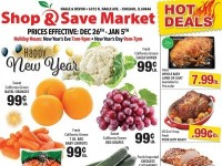 Shop and Save Market (Hot Deals - Nagle Avenue - Chicago) Flyer