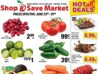 Shop and Save Market (Special Offer - Nagle Avenue, Chicago) Flyer