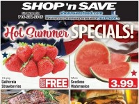 SHOP 'n SAVE (Hot Summer Specials - NY) Flyer