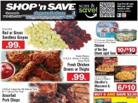 SHOP 'n SAVE (Scan And Save - NY) Flyer