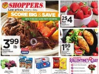 Shoppers Food (Score big & Save) Flyer