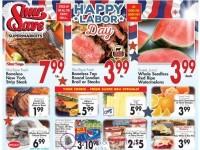 ShurSave Markets (Happy Labor Day) Flyer