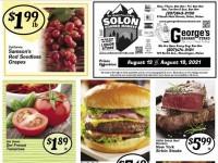 Solon Corner market (Weekly Specials) Flyer