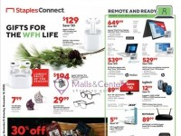 Staples (Gifts For The WFH Life) Flyer
