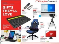 Staples (Gifts They'll Love) Flyer
