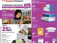 Staples (Keep Business Going Strong) Flyer