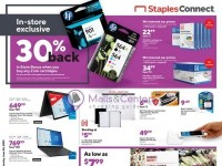 Staples (Let's Get Creative) Flyer