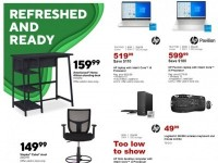 Staples (Refreshed And Ready) Flyer