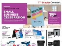 Staples (Small Business Celebration) Flyer