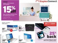 Staples (Special Deals) Flyer