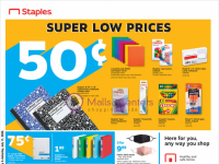 Staples (Super low prices) Flyer