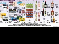 Sullivan's Foods (liquor ad) Flyer