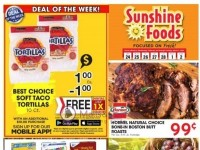 Sunshine Foods (Special Offer) Flyer