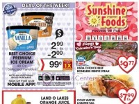 Sunshine Foods (Weekly Specials) Flyer
