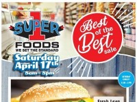 Super 1 Foods (Best of the best sale) Flyer