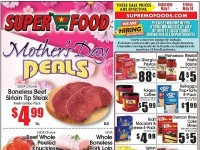 Super Food (Mother's Day Deals) Flyer