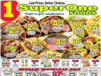 Super One Foods (Low Prices Better Choices - MI) Flyer