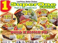 Super One Foods (Low Prices - WI) Flyer