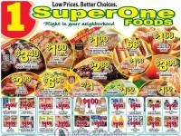 Super One Foods (Special offer - MI) Flyer