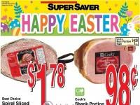 Super Saver (Happy Easter) Flyer