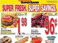 Super Saver (Super Fresh, Super Savings) Flyer