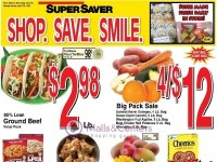 Super Saver (Super Savings) Flyer