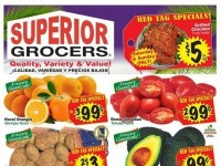 Superior Grocers (Quality, Variety & Value) Flyer