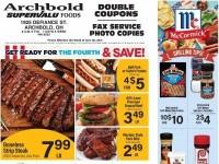 Supervalu Food Stores (Weekly Specials) Flyer